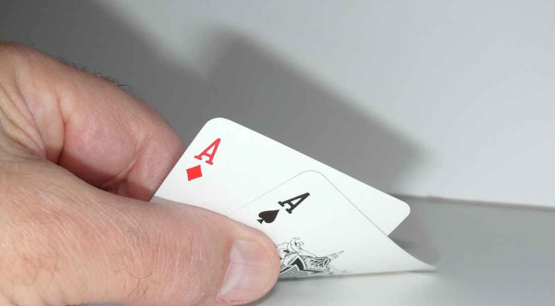 ace business card card game